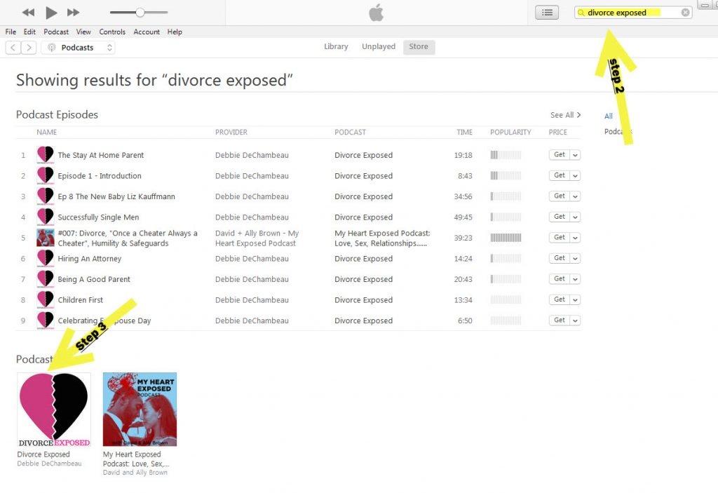 Step 3 Create a review in iTunes - Apple Podcasts